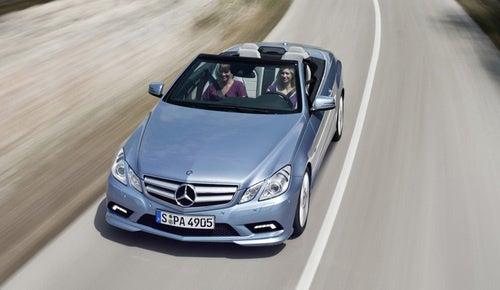 2011 Mercedes E-Class Convertible Drops Top