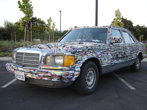 Mercedes-Pens Is A Self-Explanatory Art Car