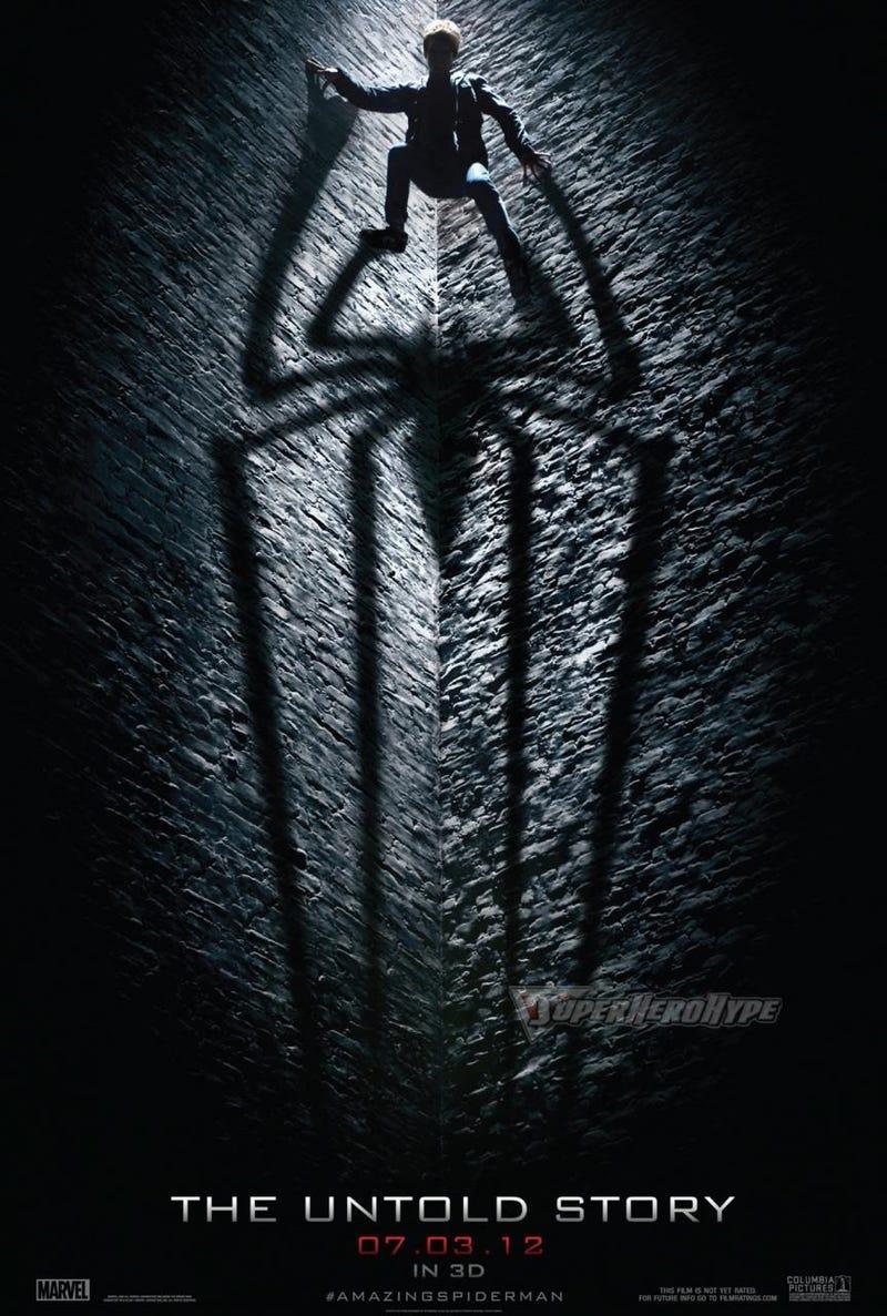 New Amazing Spider-Man poster shows off Spidey's arachnid shadow