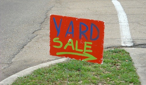 Have a Successful Garage or Yard Sale