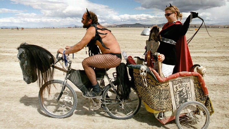 Cops Have Shut Down the Road to Burning Man