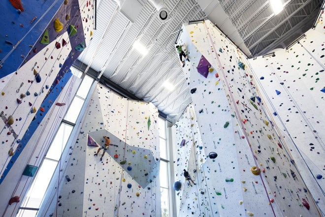 The Climbing Walls In This Former Sugar Factory Look Like Candy Heaven