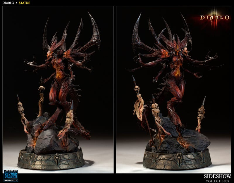 A Statue of Diablo Itself? That'll Cost Ya.