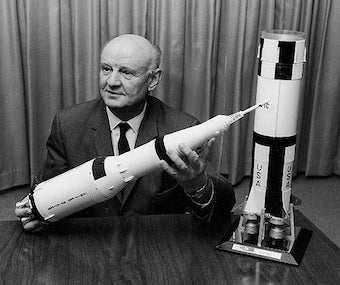 The Rocket-Car Man Who Helped Put Us On The Moon
