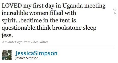 Jessica Simpson's Human Sensitivity Fail, Updated