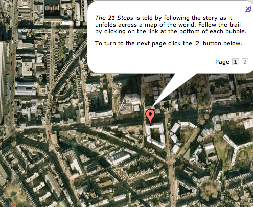 Google-Map Your Next Novel... or Twitter It?