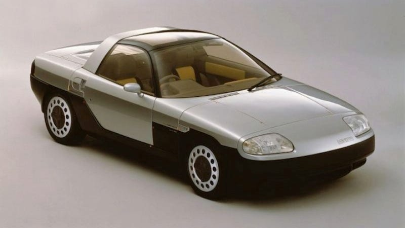 The Mazda MX-04 Concept Would Have Been A Very Strange Miata