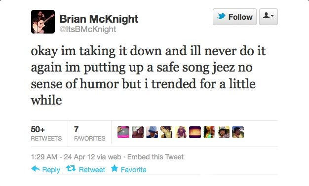 Here's Brian McKnight's Ode To Female Ejaculation