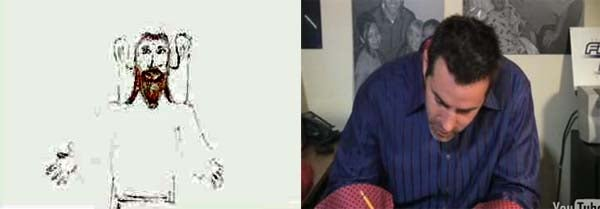 When The Spirit Moves Him, Kurt Warner Must Draw