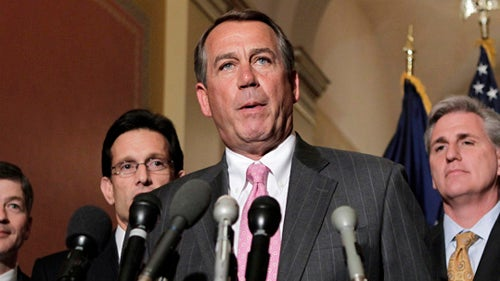 Boehner Wants 'Trillions' In Cuts for Debt Limit Hike