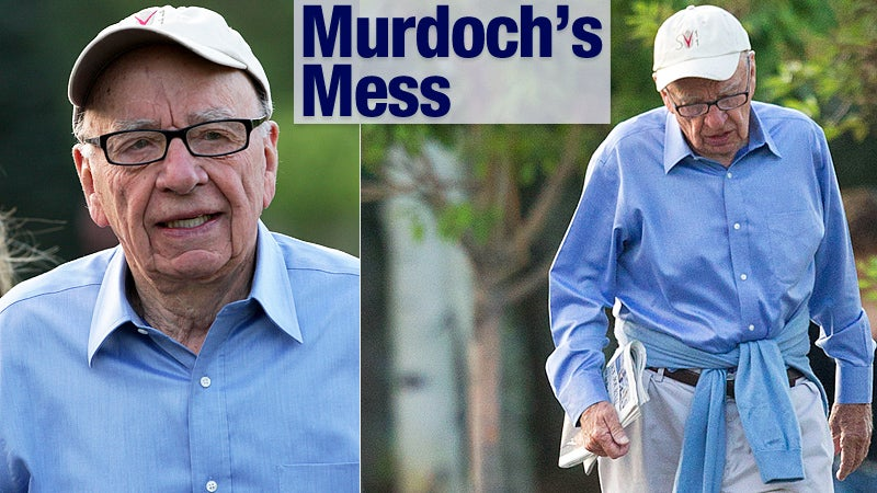 Rupert Murdoch Is Coming to Save the Day