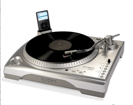 Ion USB Turntable Rips Vinyls Directly to iPods