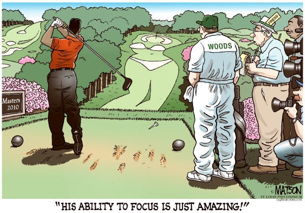 Apple Thinks This Tiger Woods Cartoon Is Too Mean For Your iPhone