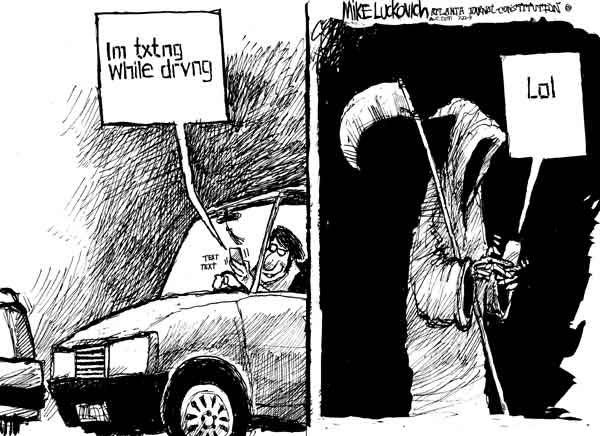 Texting Death