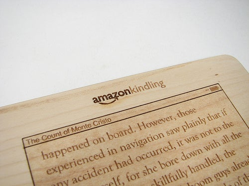 The Amazon Kindling Holds 120 Books Words