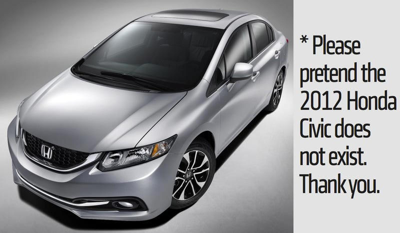 2013 Honda Civic: Let's Try This Again