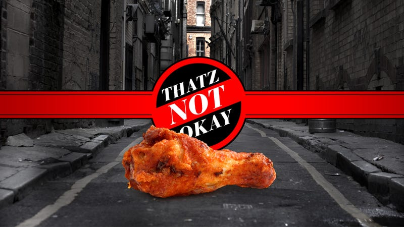Thatz Not Okay: Eating Food Off the Street; Name-Robbing a Dead Girl