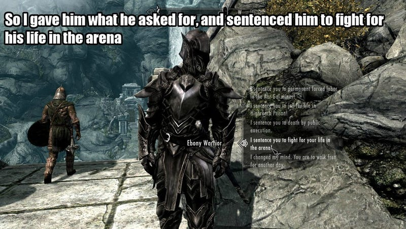 The High King of Skyrim Takes Nobody's Crap