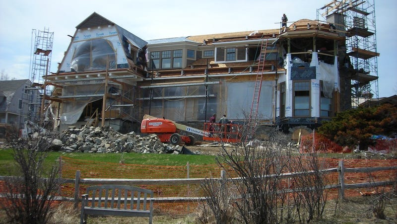 Let's Gawk At Roger Goodell's Under-Construction Summer Home