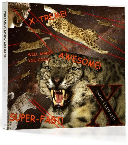 56 Redesigns of the Snow Leopard Box