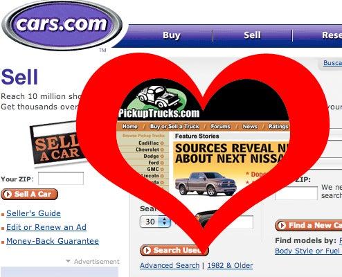 PickupTrucks.com Sold To Cars.com, We're Going To Register 4DoorCoupe.com