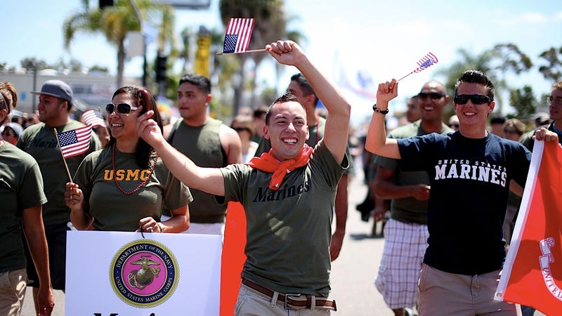 Gay Military Personnel to Wear Uniforms in San Diego's Pride Fest, as They Damn Well Should