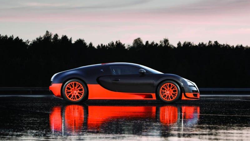 Guinness Strips Bugatti Veyron SS Of 'World's Fastest' Car Title