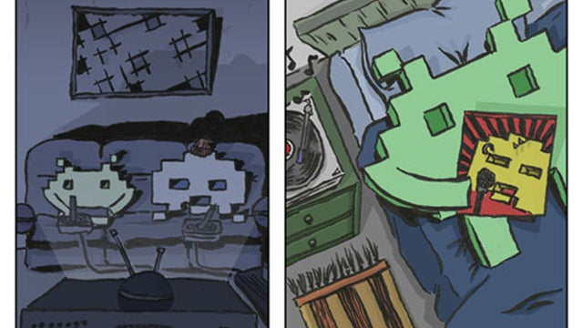 A Space Invader Origin Story Is Hilarious, Brilliant, And Sort Of Heartbreaking