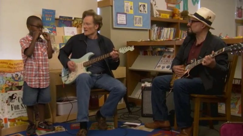 Conan Sings the Blues With Some Hilarious Kids