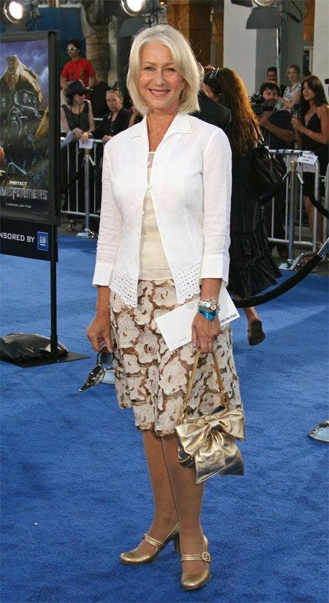 Please Tell Us Helen Mirren Is Not Wearing Pantyhose