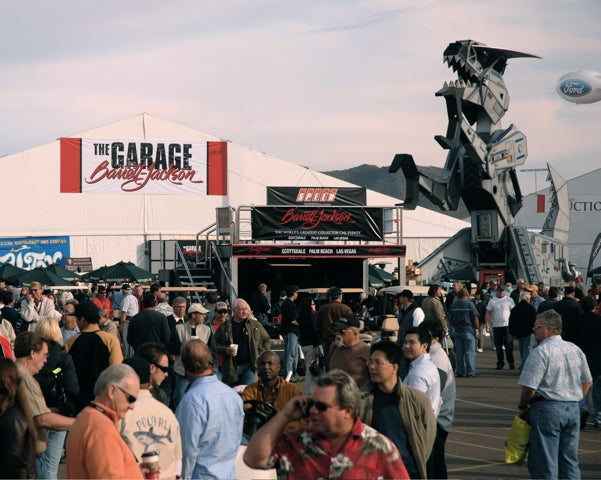 Barrett-Jackson: Live Coverage of Hot BJ Action in Scottsdale!