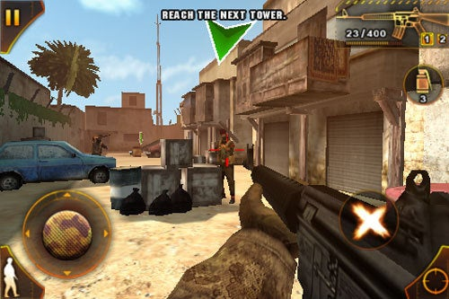 Gameloft Deploying Modern Combat: Sandstorm To iPhone