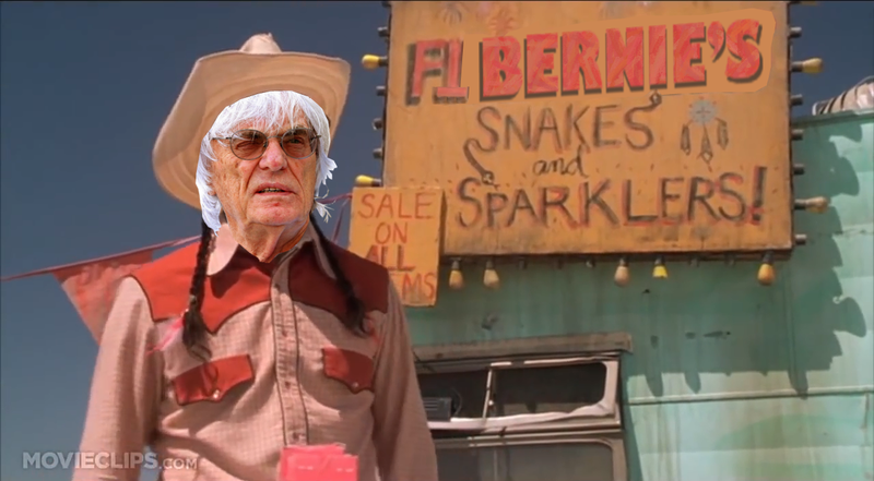 Snakes and Sparklers: Bernie's F1