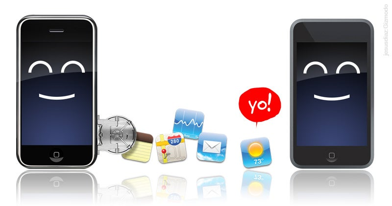 iPod Touch Can Run All Apple and Third-Parties' iPhone Apps