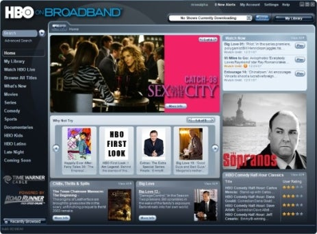 HBO on Broadband: All-You-Can-Eat Movie and TV Downloads