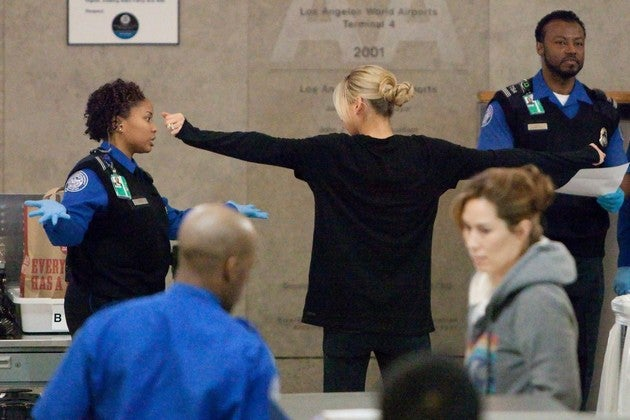 TSA Makes Sure Anna Kournikova Isn't A Terrorist