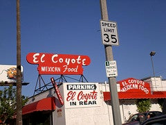 'No on 8' Lunch At El Coyote Even Worse Than Their Fajita Plate