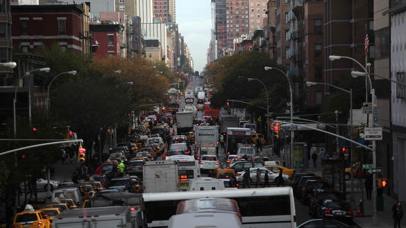 New Stats Show Exactly Why Congestion Pricing Is a Great Idea for NYC