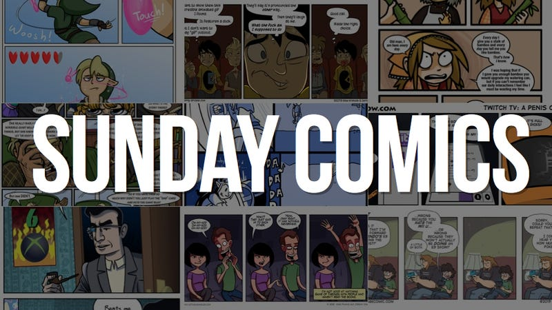 Sunday Comics: Can't Touch This
