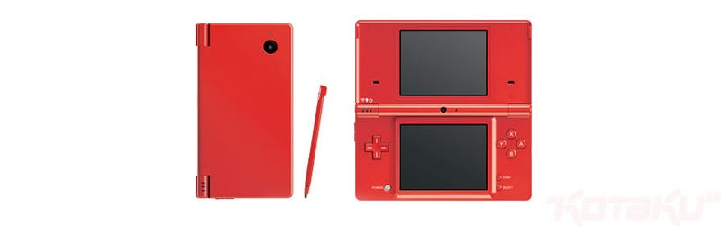 Red DSi Hitting Japan This Summer