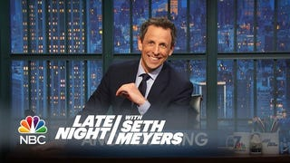 Seth Meyers Rips Indiana Governor's Spineless Defense of Anti-Gay Bill