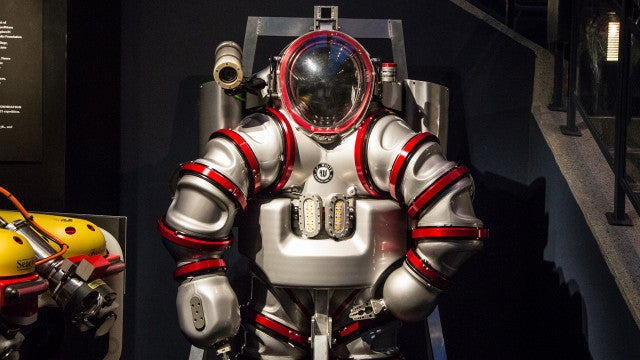 This underwater Iron Man suit could revolutionize ocean research