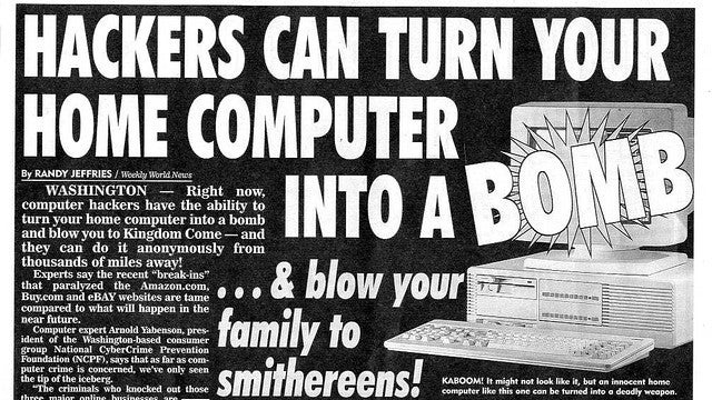 Weekly World News Hides Bat Boy Behind a Paywall