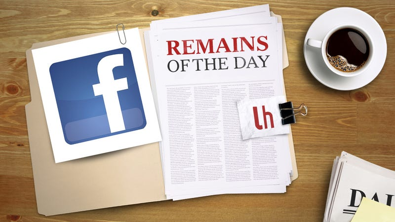 Remains of the Day: Facebook May Let Strangers Message You For $1