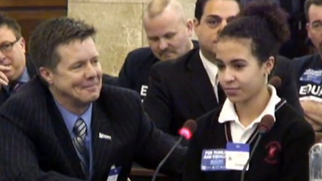 Your Saturday Cry: A Teen Girl's Eye-Drenching Testimony for Marriage Equality