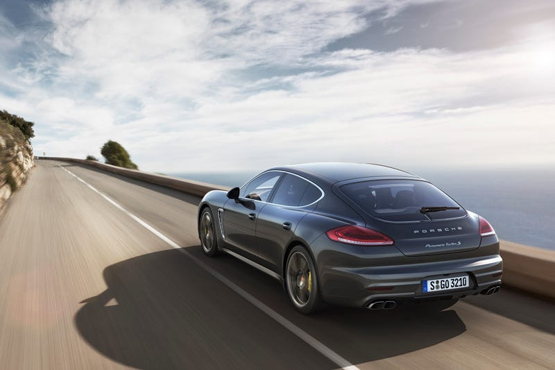 The 2014 Porsche Panamera Turbo S Is A $200,500 Porsche Sedan
