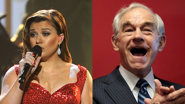 Kelly Clarkson Endorses Ron Paul For President, Accidentally Enrages Her Fans
