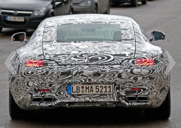 """The SLS """"replacement"""" (AMG GT) is a hatchback."""