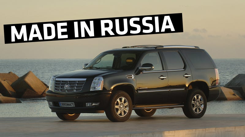 In Hilarious Cold War Reversal, GM Built Cadillacs In Russia