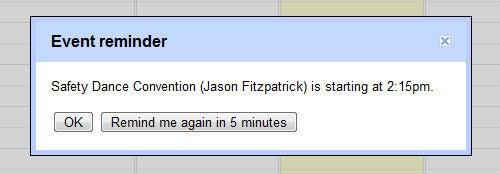 Set Google Calendar Alerts to Gentle Reminder Mode for Less Intrusive Reminders